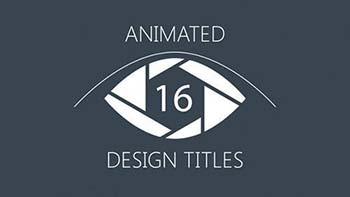 Animated Design Titles