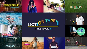 Motion Type Titles Pack