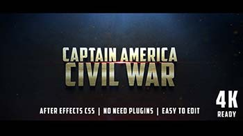 Civil War Cinematic