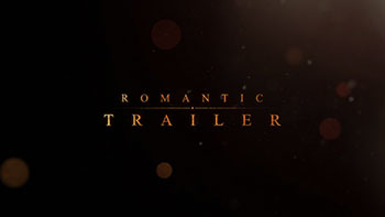 Romantic Trailer Titles