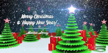 Merry Christmas and Happy New Year - After Effects 142925